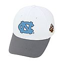 2017 Final Four Boost Stretch One-Fit Hat (White/Grey)