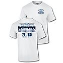 2017 National Champs Distressed Score T (White)