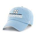 2017 National Champs Clean Up Hat (CB)