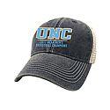 2017 National Champs Split Line Trucker Hat (Navy/Stone)