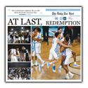 The Daily Tar Heel Cover Wrap Poster