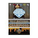 2017 National Champions Skyline Poster