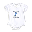 Infant Born to be a Tar Heel Onesie