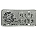 Irregular Pewter Auto Tag