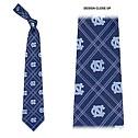 Diamond Repeating NC Plaid Woven Tie