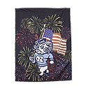 Fourth of July Rameses House Flag