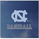 NC Baseball Outside Application Window Decal