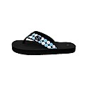 Ladies' Repeating Circles Flip Flops