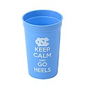 Keep Calm and Go Heels Plastic Stadium Cup