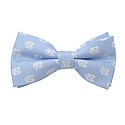 Carolina Blue Repeating NC Bow Tie