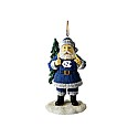Santa Toting Christmas Tree Ornament