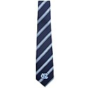 Navy & Carolina Blue Diagonal Stripe Tie