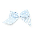 Small Criss Cross Cheer Bow with Alligator Clip