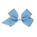 Classic Small Carolina Blue Bow with Alligator Clip