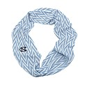 Chevron Infinity Scarf (CB/White)