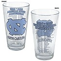 2014-2015 Basketball Schedule Collector's Pint Glass