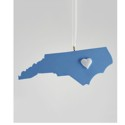 Chapel Hill Heart Ornament