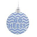 Go Heels Chevron Ornament
