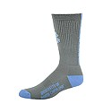 Grey Racer Cushioned Crew Sock