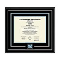 Spirit Medallion Diploma Frame in Onyx Silver + D/S