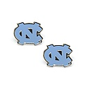 Carolina Blue NC POST Earrings