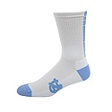 White Hi Tech Cushioned Half Crew Sock