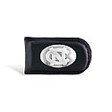 Magnetic Money Clip with Concho Logo (Black)