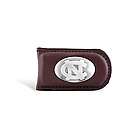 Magnetic Money Clip with Concho Logo (Brown)