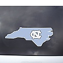 State Shape with NC Outside Application Window Decal
