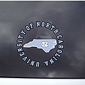 Circle State Outside Application Window Decal