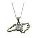 State Shape Necklace