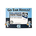 4 inch x 6 inch  Go Tar Heels PVC Picture Frame