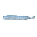 Moroccan Tile Fabric Headband (CB/White)
