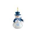 Woodland Snowman Ornament
