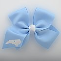 State Shape Bow with Alligator Clip