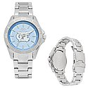 Ladies Sport Bracelet Watch with Carolina Blue Face