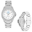 Ladies Silver Glitz Sport Bracelet Watch