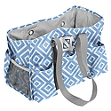 Diamond Pattern Junior Caddy Tote Bag