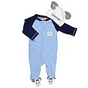 Infant Rameses Footie Outfit with Hat