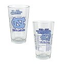 2015-2016 Basketball Schedule Collector's Glass