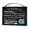 Small Family Cheer Plaque