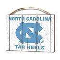 Small North Carolina Tar Heels Plaque