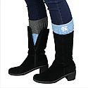 Knit Boot Cuff (CB/Charcoal Grey)