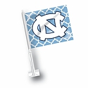 Quatrefoil Car Flag