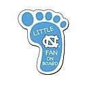 Little Fan Footprint Magnet