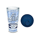 24 oz Go Heels Insulated Tumbler with Lid