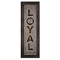 Framed LOYAL Wordmark Art