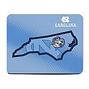 Neoprene State of NC Mouse Pad