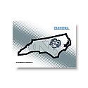 Glass State of NC Cutting Board