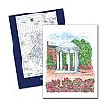 Full Color Old Well Pocket Folder with Campus Map